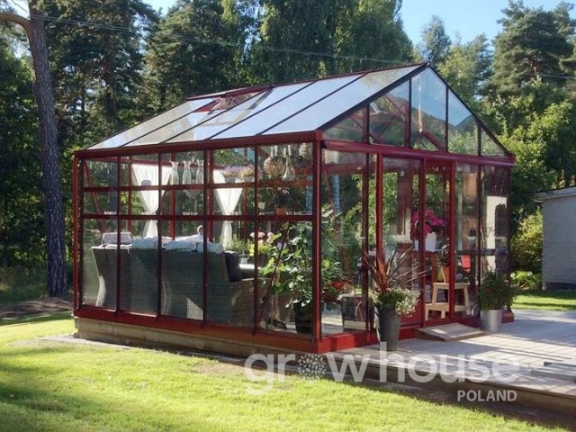 Szklarnie ogrodowe Euro P od 380 x 309 cm do 457 x 830 cm